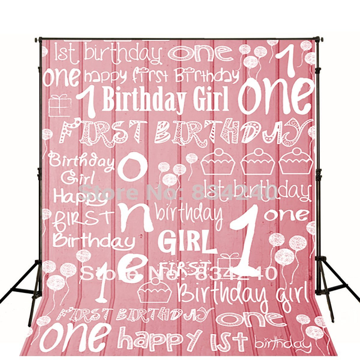 LIFE MAGIC BOX Photography Backdrops Photo Background Studio 1st Birthday Baby Birthday Party Backdrop Kids Backdrops customize home decoration photography backdrop studio background cartoon baby kid party birthday photo background g 073