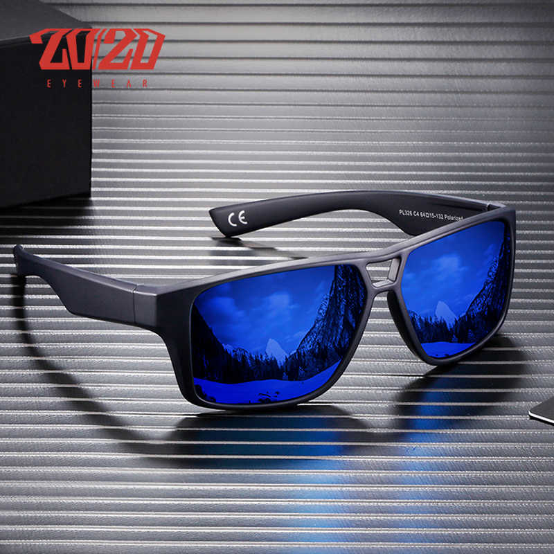 20/20 Brand Fashion Polarized Sunglasses Men  Women Sun Glasses Male Classic Driving Shades Eyewear Oculos PL326