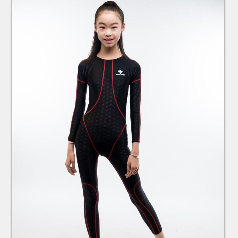 Shark Skin One Piece Swimsuit Plus Size Swimwear Girl Child Swim Suit Competition Bathing Suit Bodysuit Surfing Suits Wetsuit plus size scalloped backless one piece swimsuit