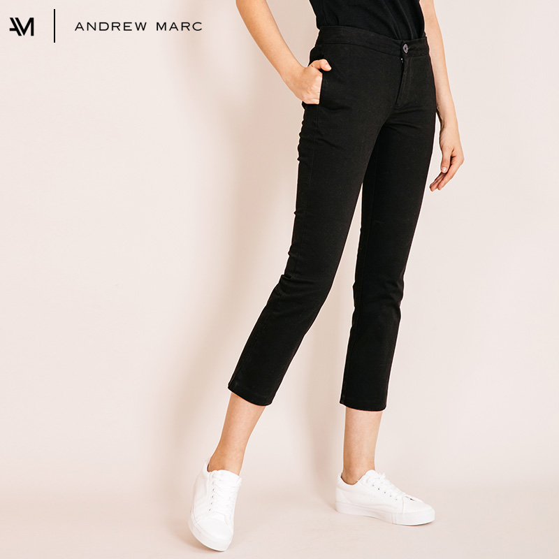 ANDRRW MARC 2018 Woman Casual Calf Length Pencil Pants Business Daily Trouser Female TW8GJ199