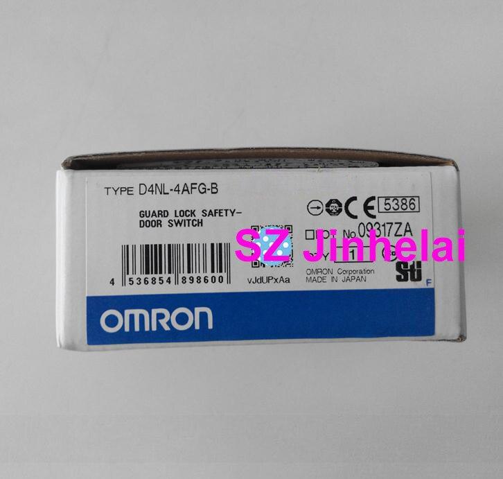 OMRON D4NL-4AFG-B authentique original garde serrure sécurité-porte interrupteur