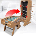 Teenagers Students Adult Indoor Coin Operated Street Solid Rod Desktop Football Soccer Arcade Game Machine Game Console