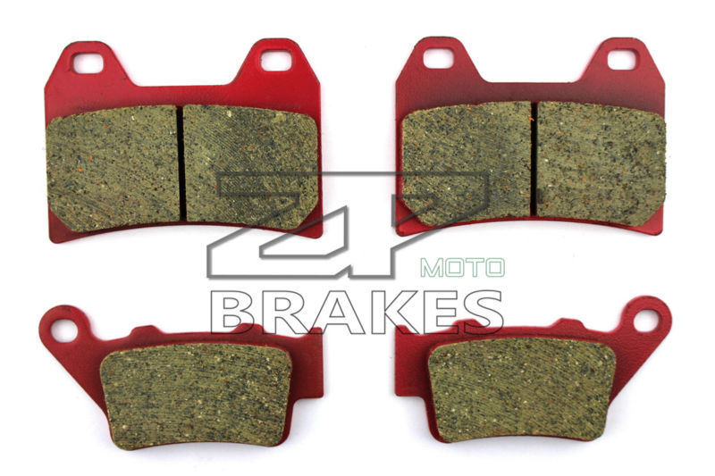 ФОТО Motorcycle Brake Pads For HUSQVARNA SM 610 R 2000, SM 610 1998-1999, 610 LT 2000 F+R New Ceramic Composite High Quality ZPMOTO