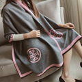 QYS001 2016 nuevo doble simple llano Pashmina Cashmere bufanda caliente mujer otoño invierno fabricantes venta CALIENTE/bufandas 5 colores