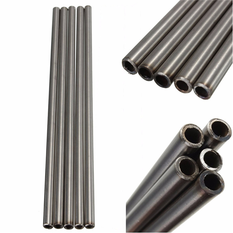 304 Stainless Steel Capillary Tube OD 8mm x 6mm ID Length 250mm Metal Parts LA