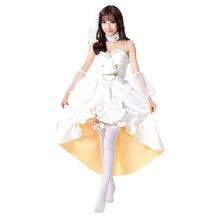 Love live Minami Kotori Tojo Nozomi Nishikino Maki Hoshizora Rin Koizumi Hanayo cosplay costume Wedding dress
