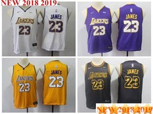 0ca35cda2c2 Youth kids 2018 New arrvail high quality Los Angeles LeBron James Lakers  jersey(China)