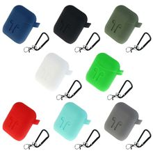 Silicone Shock Proof Protector Sleeve Earphone Case For Apple AirPods Skin Cover
