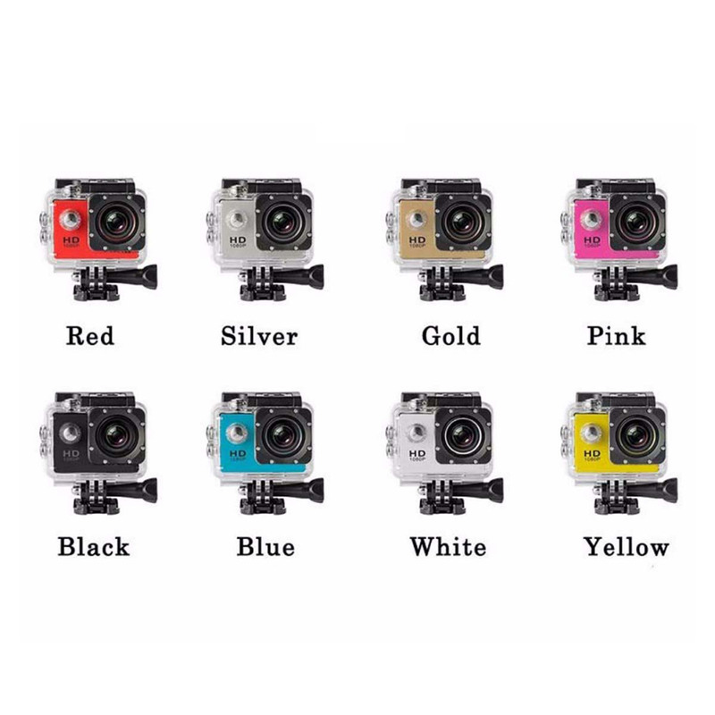 Outdoor sport kamera super 30 meter 170d bildschirm 1080p unterwasser wasserdichte sport kamera go extreme professionelle cam