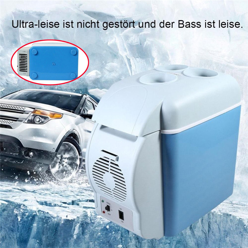 Promotion! New Car Refrigerator Cooler Warmer Truck High Quality Portable Durable Practical Electric Fridge for Travel RV Boat(China)
