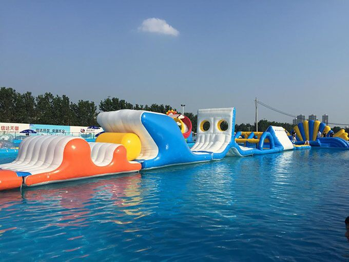 Inflatable water park aqua park, inflatable giant water games for adults, water park amusement park facility