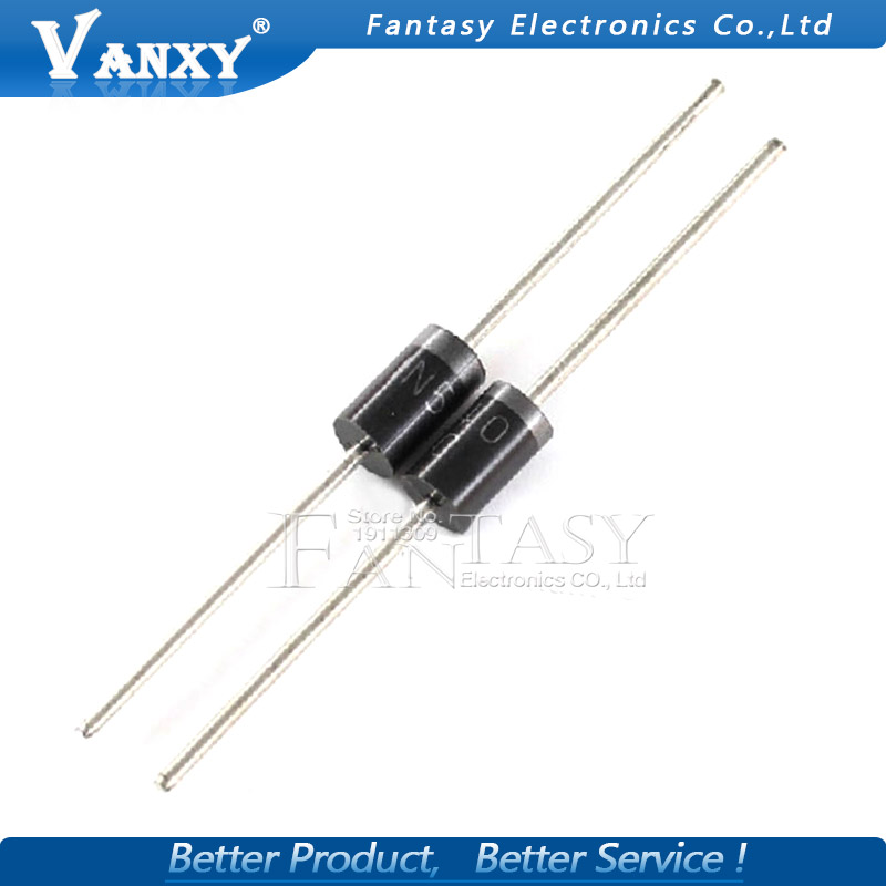 20pcs 1N5406 IN5406 3A/600V DO-27 Rectifier Diode
