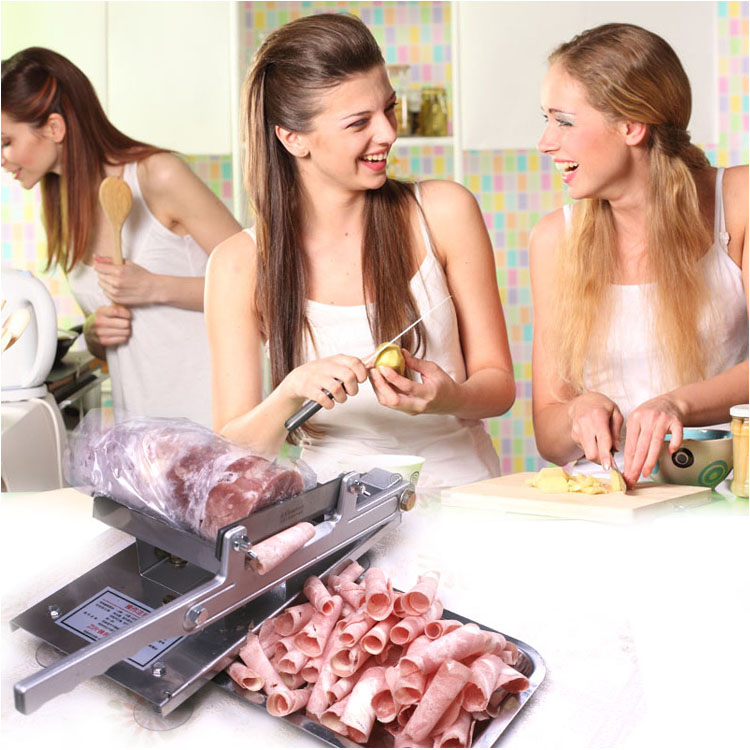 Household Mutton slicing machine Manual Cut meat machine Commercial Planing machine Meat grinder Free shipping 35l meat salting marinated machine chinese salter machine hamburger shop fast pickling machine with timer