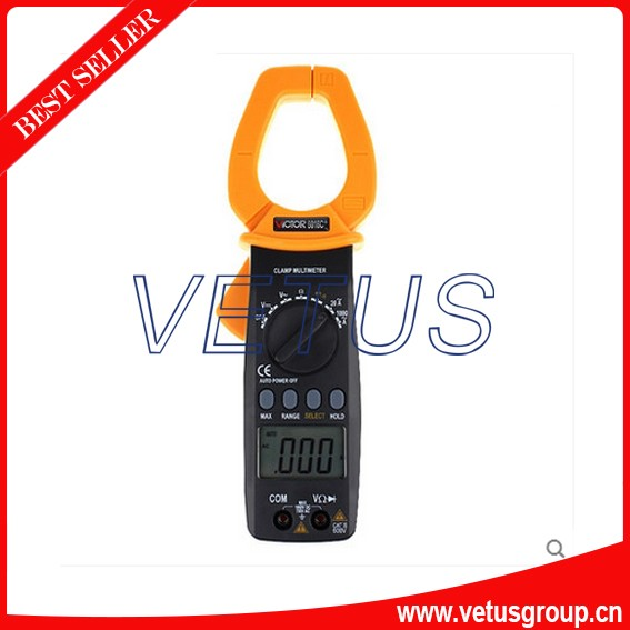 Digital Multimeter/Victor/VC 6016C+3/4 Auto Range Temperature Test Streamline Design & Large LCD Display digital multimeter victor vc 6056d3 4 auto range temperature test streamline design