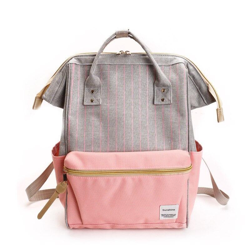 Us 22 04 2019 New Canvas Printing Backpack Women School Bag Teenage Girls Cute Bookbag Vintage Laptop Backpacks Y276 In Backpacks From Luggage