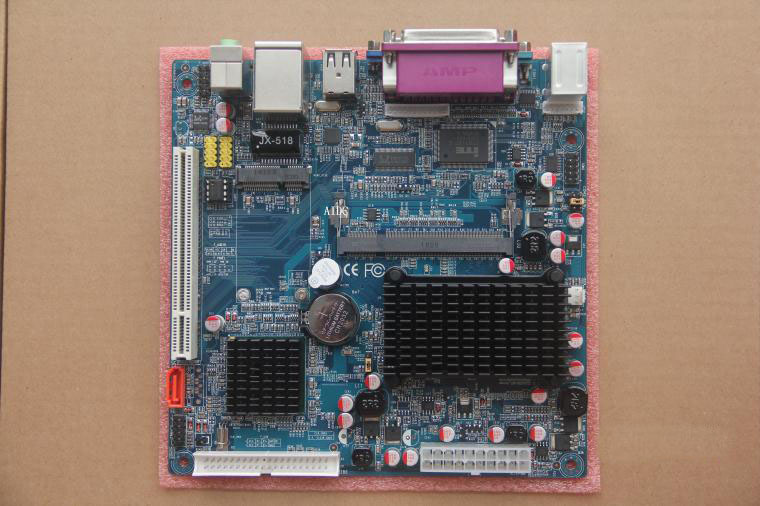 Full new for Atom N270 motherboard cash registers cash register POS machines motherboard IPC motherboard,1 years warranty