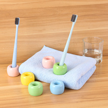 Ceramic Toothbrush Holder Porcelain ToothBrush Stand  Japanese Mini Bath Accessories