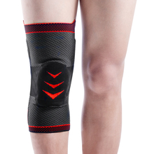 Kuangmi 1 Piece knee support volleyball pad basketball protector Three-dimensional flat knitting machine sport sleeve
