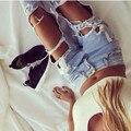Autumn Fashion Boyfriend Style Hole Ripped Jeans Women Pants Denim Vintage Straight Jeans For Woman Mid Waist Jeans Femme Blue