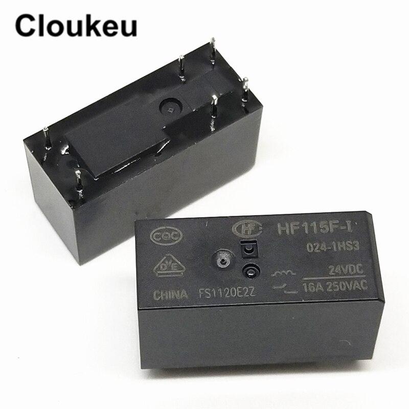 1PC ORIGINAL 24VDC JQX-115F-I-024-1HS3 HF115F-I-024-1HS3 Hongfa Relay 6pins