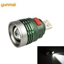 USB Portable Charging Lantern Computer Light 3-Mode Reading Lamp USB interface Mini Flash