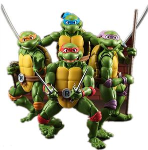 Лидер продаж, высококачественные аниме-фигурки Leonardo Donatello микеланжело Рафаэля, ПВХ Коллекционные фигурки, модель черепахи, игрушки