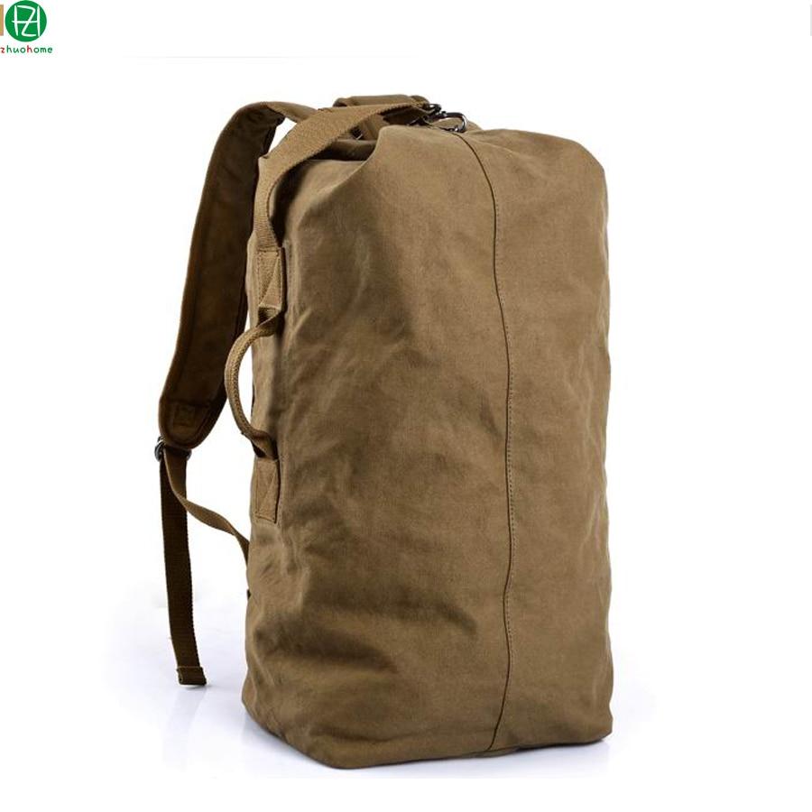 ФОТО large capacity canvas man backpacks Unique design men shoulder duffel bags mochila men travel luggage bag crossbody school bags