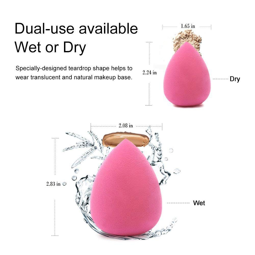 Beauty Essentials The Cheapest Price Portable Size Smile Face Silicone Makeup Puff Women Professional Liquid Foundation Bb Cream Cosmetic Puff Transparent Lovely Luster