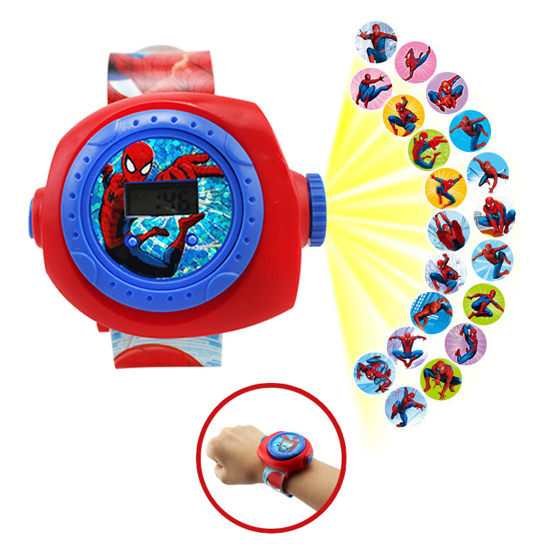 New Electronic Wristband Patrol Dogs Kids Paw Toys patrulla canina toys Puppy Patrol Dogs projection Plastic