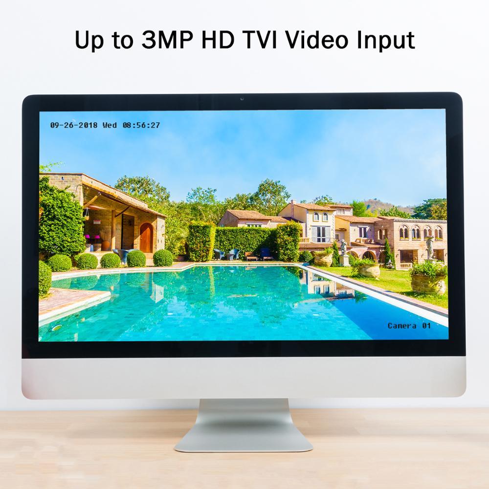 ANNKE DVR 8CH Macchina Fotografica 3MP TVI/CVI/AHD/IP/CVBS 5 in 1 DVR NVR Digitale video Recorder CCTV di Sicurezza del Sistema di Sorveglianza - 2