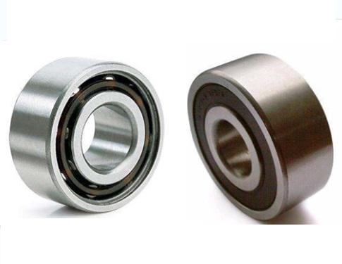 Gcr15 5214 ZZ= 3214 ZZ or 5214 2RS=3214 2RS Bearing (70x125x39.7mm) Axial Double Row Angular Contact Ball Bearings 1PC