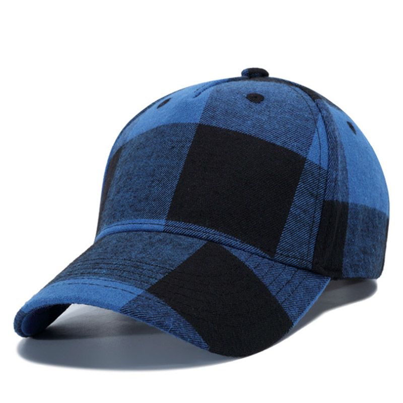 Dropwow  AETRENDS  2018 New Plaid Baseball Cap Men or Women Outdoor ... 6e36797c1df1