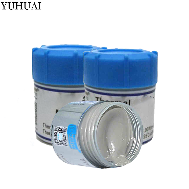 Thermal Conductive Grease Paste Silicone Heatsink Compound Net Weight 30 Grams High Performance Gray For CPU