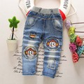 new 2016 spring autumn winter children boy baby kids pants kids jeans Bottoms baby pants zipper boys trousers