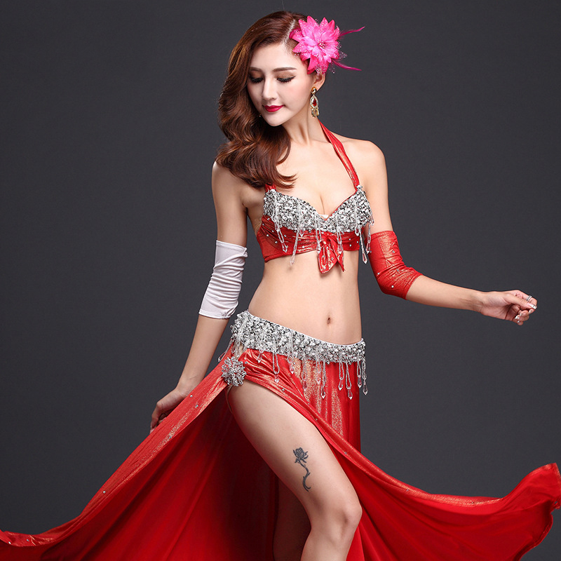 2016 Hot New Belly Dance Bra High end Performance Suit ...