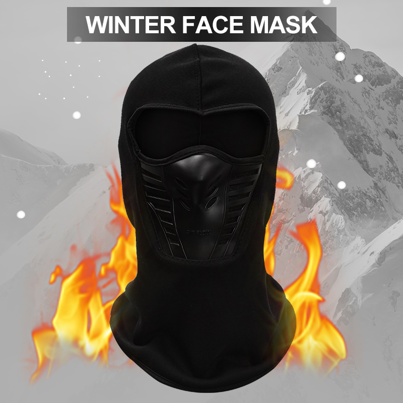 Winter Outdoor Neck Full Face Mask Warm Quick Dry Windproof Fleece Protection Hat Ski Helmet Cap Cycling Bike Accessories Sports in Cycling Face Mask from Sports Entertainment