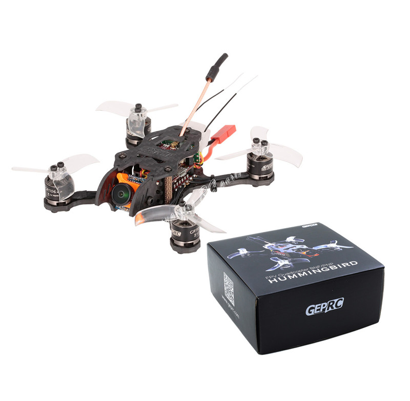 GEPRC Hummingbird BNF 5.8G 200mW Brushless 110mm Mini Micro FPV Racing Quadcopter RC Drone FrSky Receiver Optional irit ir 1119 электрический чайник