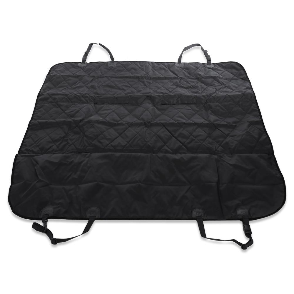Car Pet Dog Carrier Dog Bag Pet Seat Cushion Rear Bench Back Cover Mat Waterproof Anti-slip Foldable Car Mats Black Hammock #2