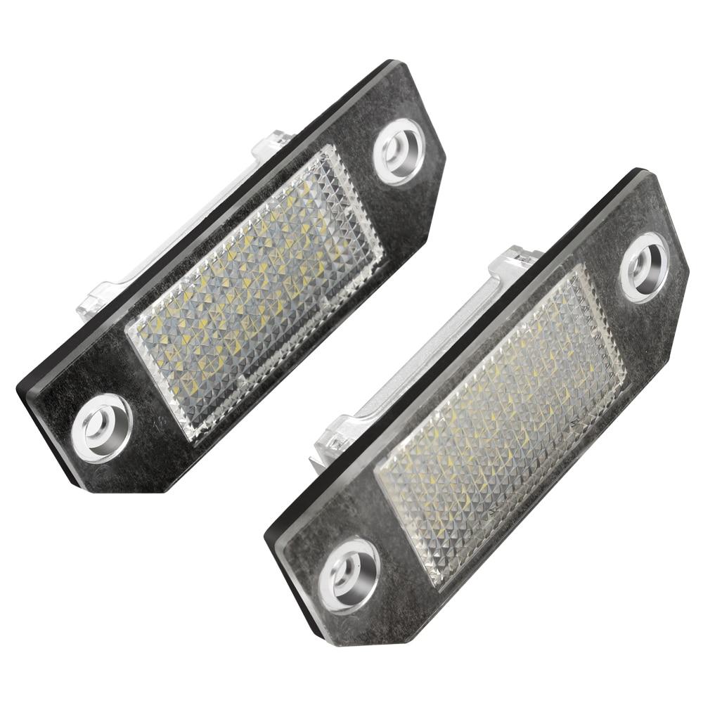 автомобиль iTimo 5Вт стайлинг Источник света супер яркий 24 из светодиодов Для Форд номерной знак свет пара