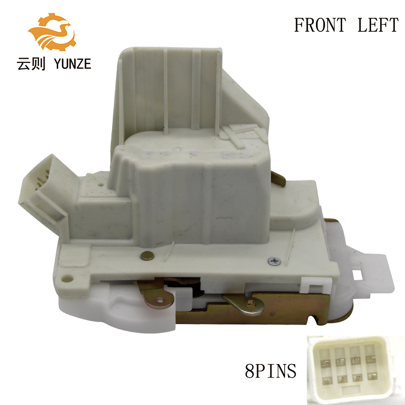 US $45 99 |LE1S71F219A65AN FRONT LEFT DRIVER SIDE DOOR LOCK ACTUATOR FOR  FORD MONDEO 2004 2007 8 PINS-in Locks & Hardware from Automobiles &