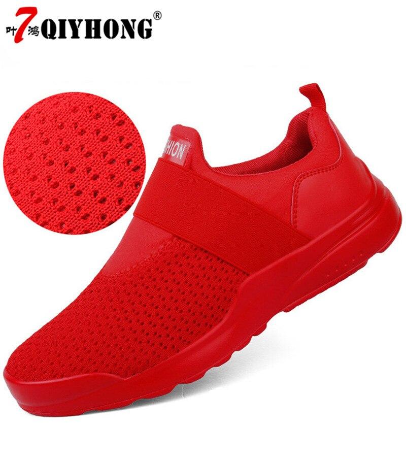 Men's Casual Shoes Sneakers Spring Summer Popular Mesh Breathable Comfortable Men Shoes Loafers footwears Slipon Walking