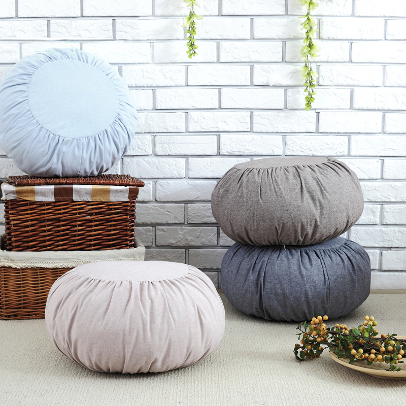 Us 18 6 40 Off New Style 45cm Thick Round Cushion For Sofa Car Chair Seat Home Decorative Throw Pillow Cushions Gift Friend Coussin Cojines In