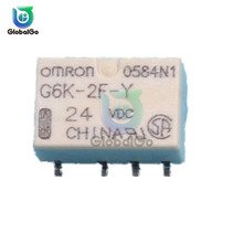 SMD G6K-2F-Y Signal Relay for Omron DC 3V 5V 12V 24V 8PIN