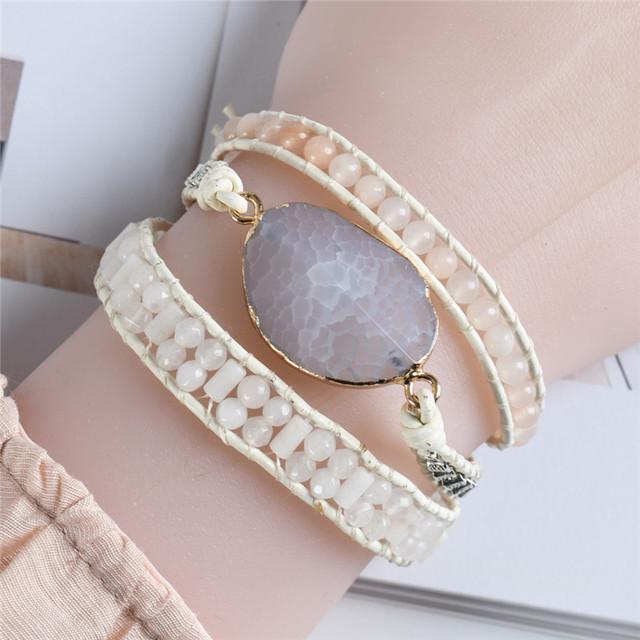 3 Strand Multilayer Boho Bracelet