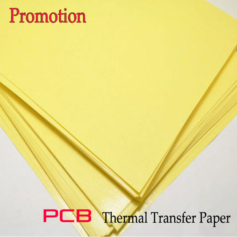 10 Sheet/lot PCB A4 Thermal Transfer Paper/Board Making Inkjet Transfer Paper Heat Papel Transfer Circuit Board