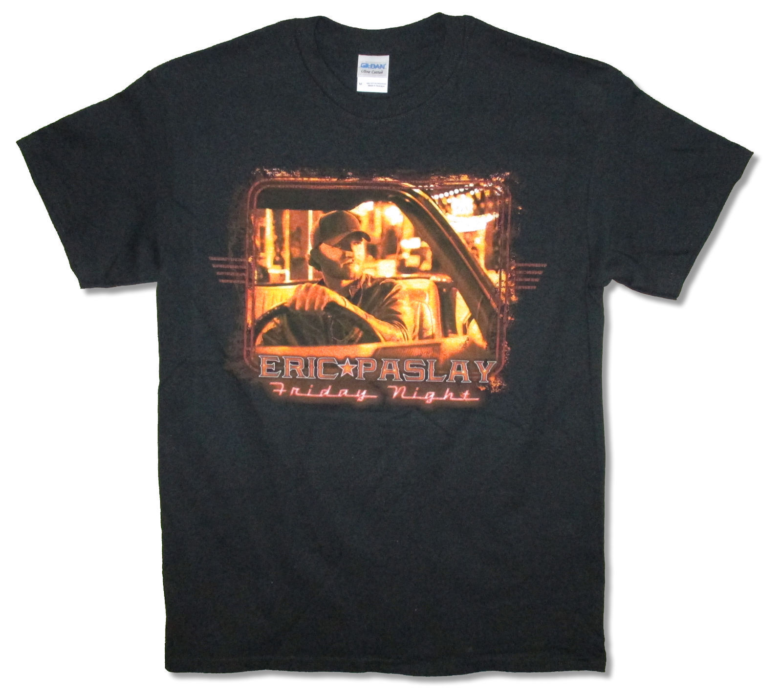 Eric Paslay Friday Night Sweet Ride Black T Shirt New Official Merch