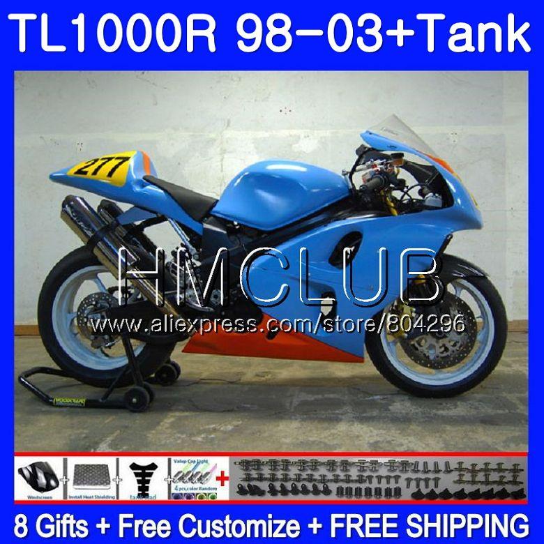 Motorcycle Accessories & Parts Body For Suzuki Tl1000 R Tl 1000 R Tl1000r 98 99 00 01 02 03 41sh11 Tl 1000r 1998 1999 2000 2001 2002 2003 Glossy Rose Fairings