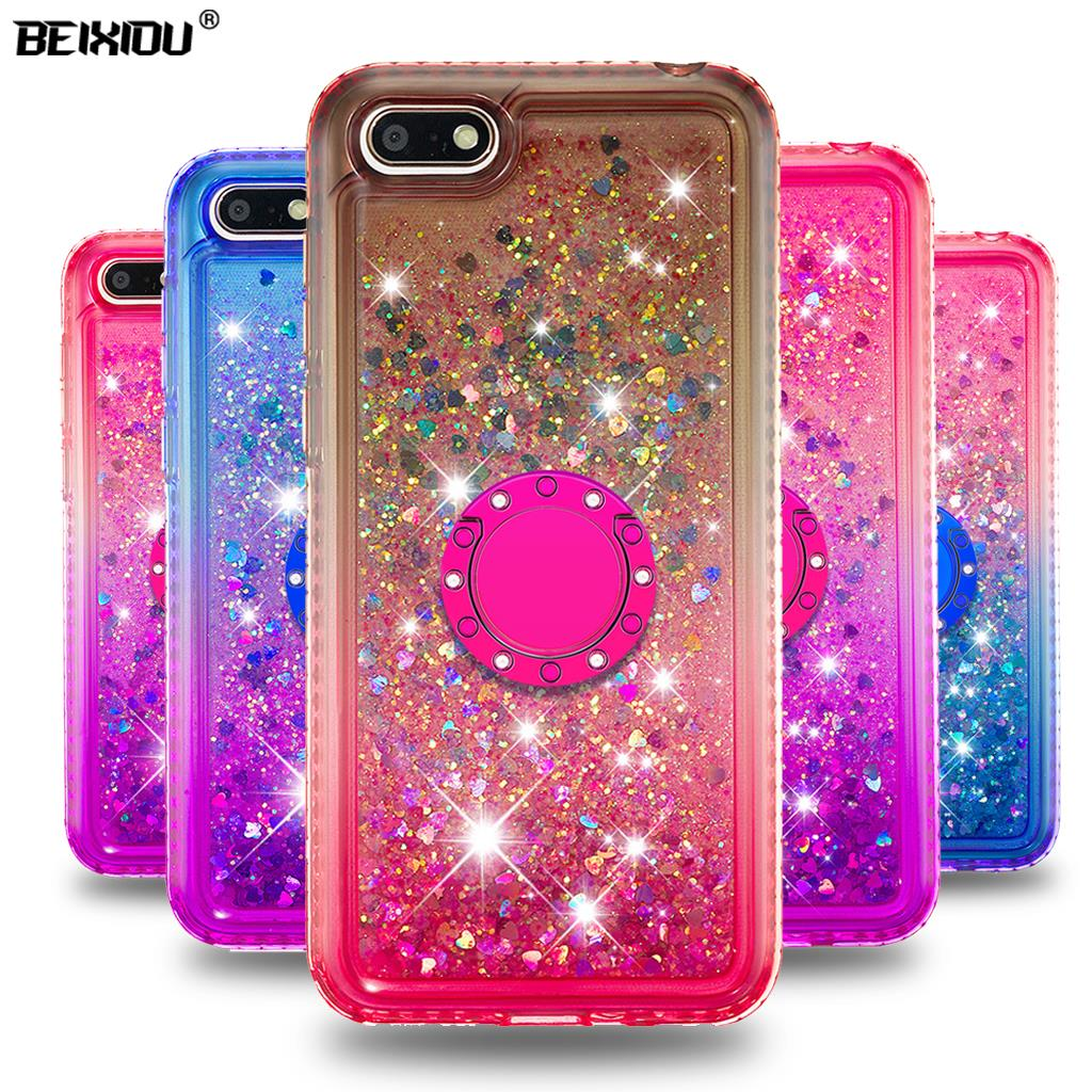 Quicksand bling Phone Case For <font><b>Huawei</b></font> Y5 Prime 2018 Cover TPU Back Cover For <font><b>Huawei</b></font> Y5 2018 <font><b>DRA</b></font>-LX2 DUA-LX2 <font><b>DRA</b></font>-L01 Case 5.45