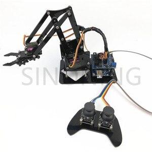 Image 5 - 4DOF манипулятор arduino, Роботизированный пульт дистанционного управления ps2 mg90s SNAM1900
