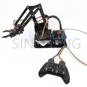 Image 5 - 4DOF manipulator arduino Robotic arm remote control ps2 mg90s SNAM1900